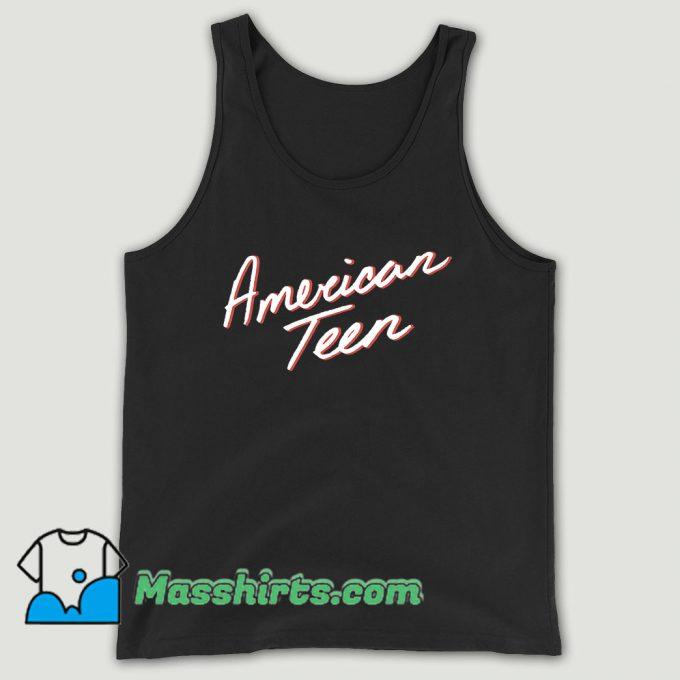 Khalid American Teen Unisex Tank Top