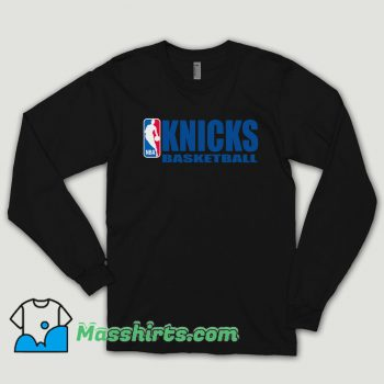 Knicks Basketball Team Long Sleeve Shirt