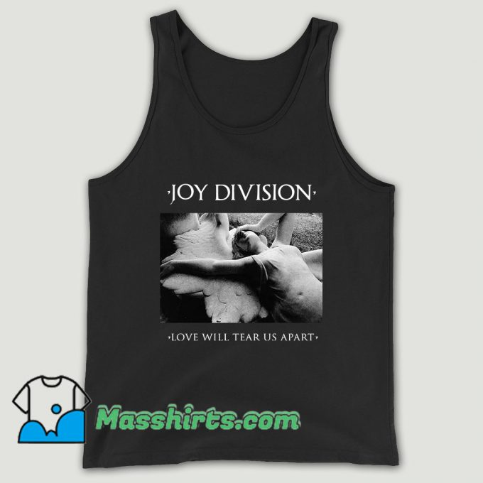Love Will Tear Us Apart Joy Division Unisex Tank Top