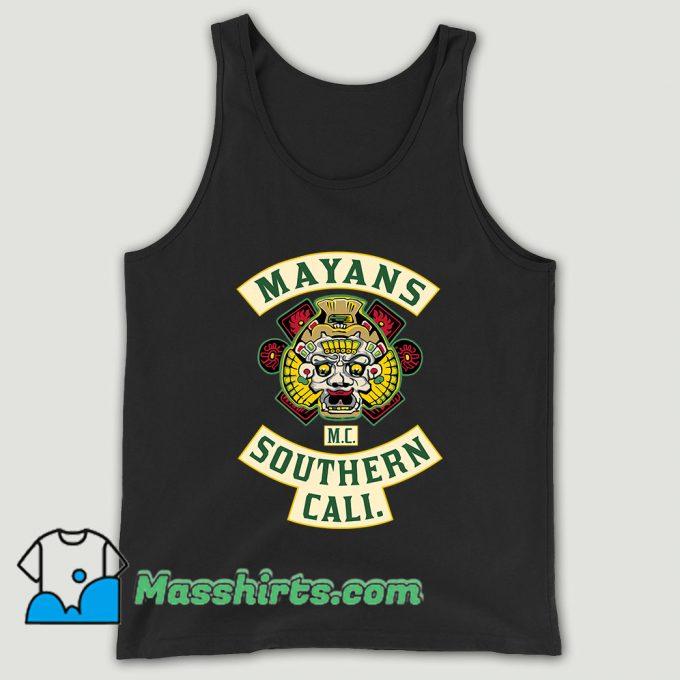 Mayans Mc Patch Unisex Tank Top