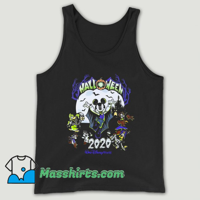 Mickey Mouse And Friends Halloween 2020 Unisex Tank Top