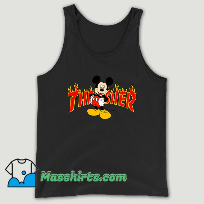 Mickey Mouse X Thrasher Unisex Tank Top