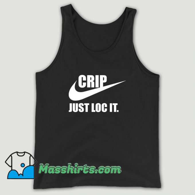 Nike Logo Crip Just Loc It Unisex Tank Top