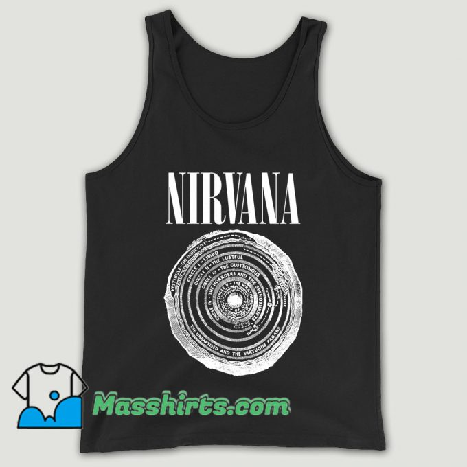 Nirvana Vestibule Circles Of Hell Unisex Tank Top