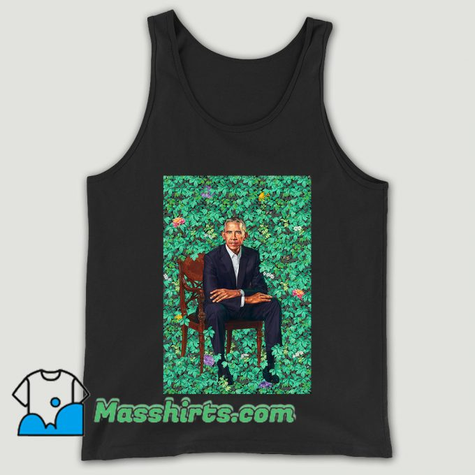 Obama Portraits Blend Paint Unisex Tank Top