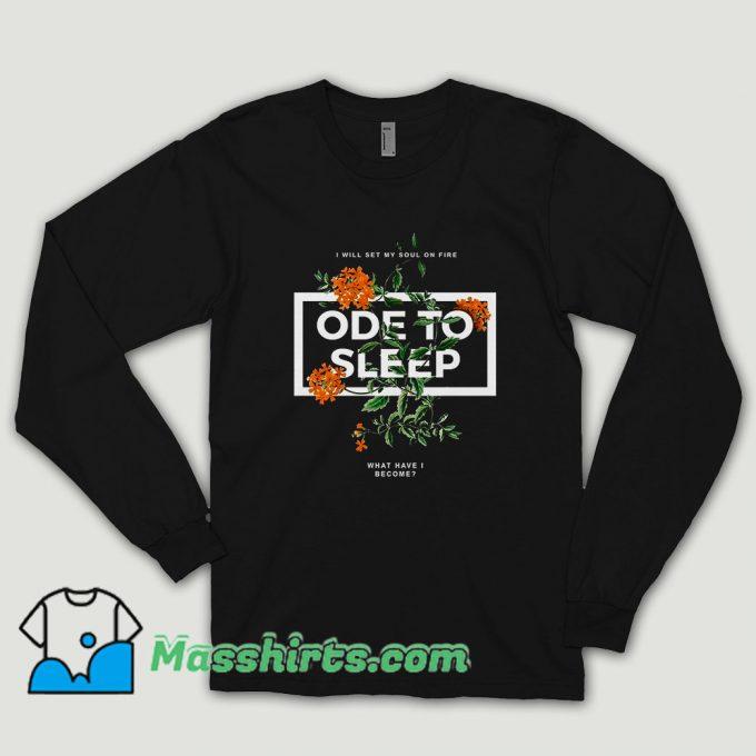 Ode To Sleep Rose Long Sleeve Shirt