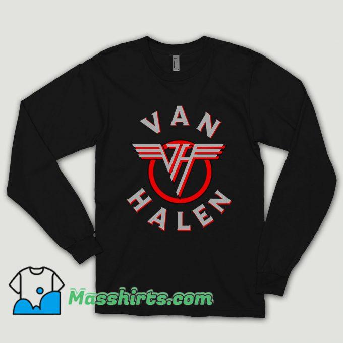 Old Rock Van Halen Long Sleeve Shirt