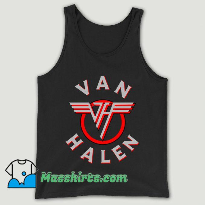 Old Rock Van Halen Unisex Tank Top