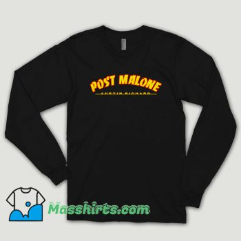 Post Malone Thrasher Logo Long Sleeve Shirt