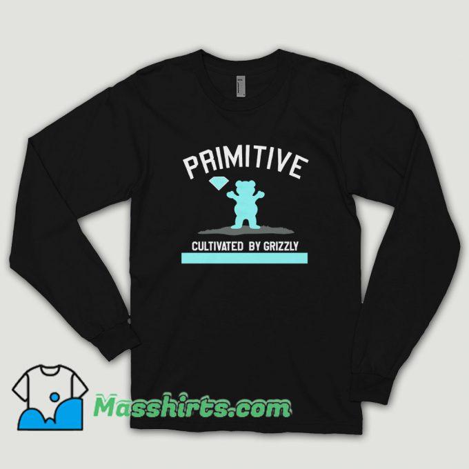 Primitive X Grizzly X Diamond Supply Co Long Sleeve Shirt