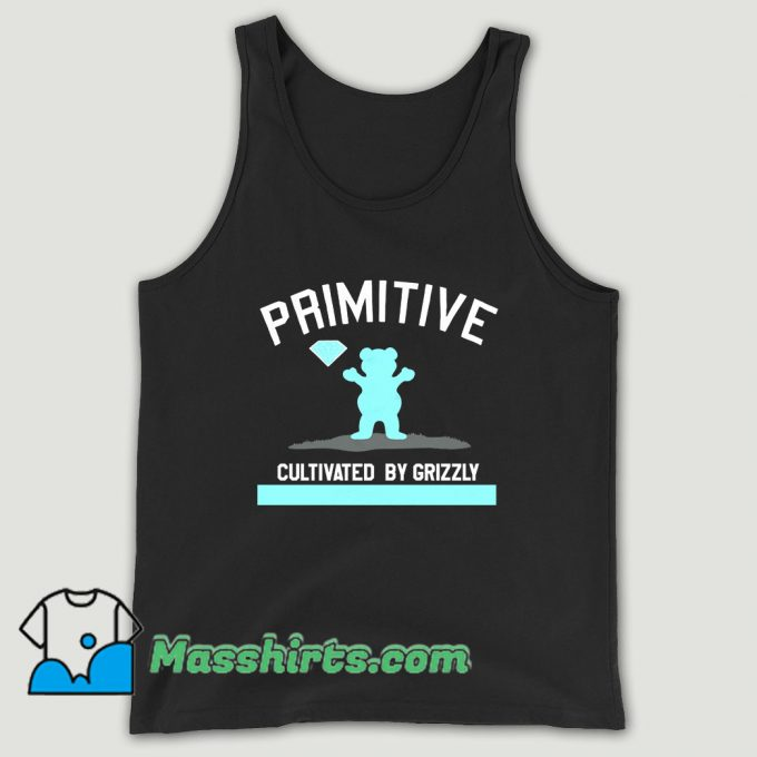 Primitive X Grizzly X Diamond Supply Co Unisex Tank Top