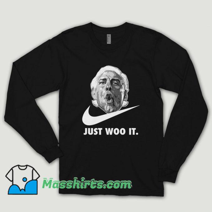 Ric Flair Just Woo Long Sleeve Shirt