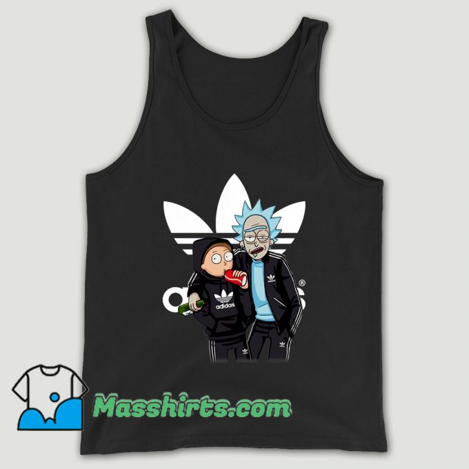 Rick And Morty Adidas Unisex Tank Top