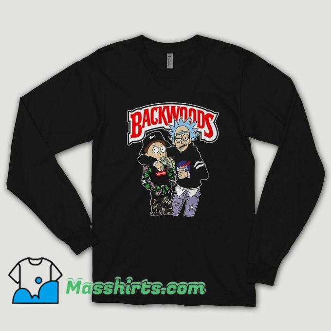 Rick And Morty Backwoods Long Sleeve Shirt