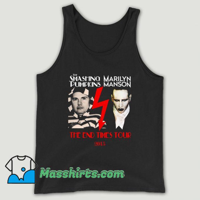 Smashing Pumpkins Marilyn Manson Tour Unisex Tank Top