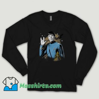 Star Trek 50th Anniversary Spock Long Sleeve Shirt
