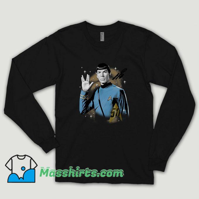 Star Trek 50th Anniversary Spock Long Sleeve Shirt