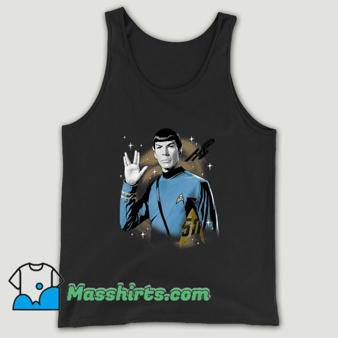Star Trek 50th Anniversary Spock Unisex Tank Top