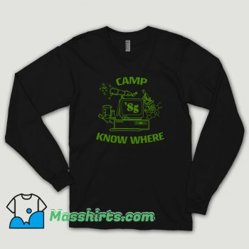 Stranger Things Camp Know Where Long Sleeve Shirt