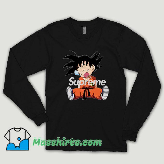 Supreme Goku Sleep Long Sleeve Shirt