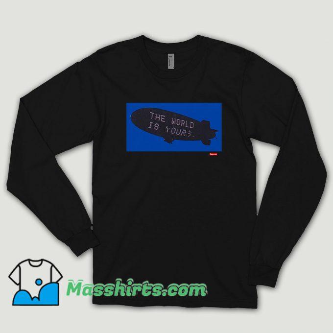 Supreme Scarface Blimp Long Sleeve Shirt