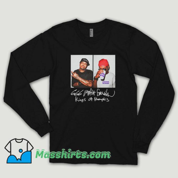 Supreme Three 6 Mafia Long Sleeve Shirt
