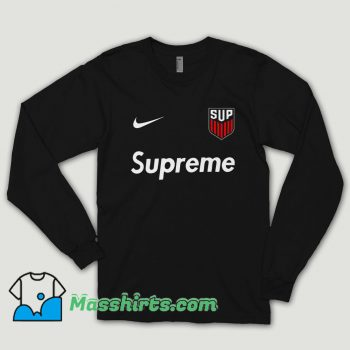 Supreme Usa Jersey Long Sleeve Shirt