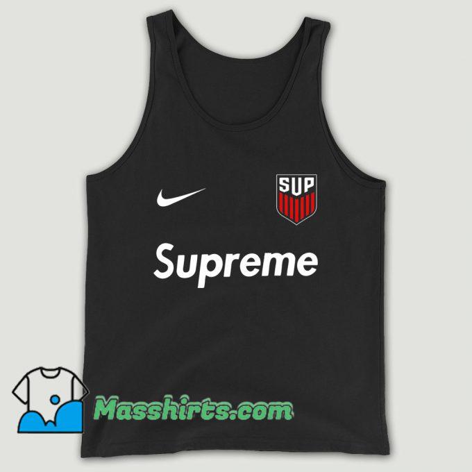 Supreme Usa Jersey Unisex Tank Top