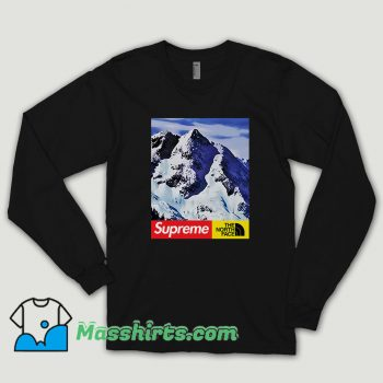 Supreme X The North Face Mountain Long Sleeve Shirt
