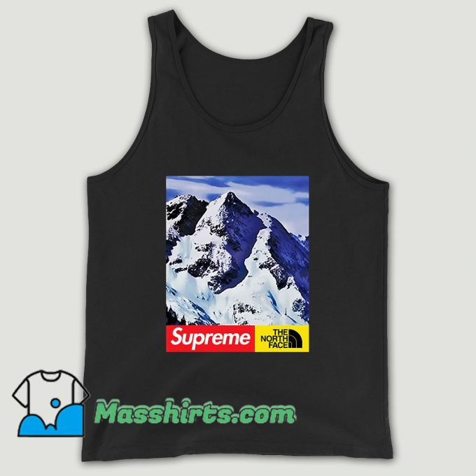 Supreme X The North Face Mountain Unisex Tank Top