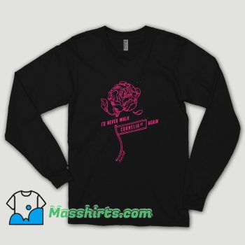 Taylor Swift Cornelia Street Lyrics Long Sleeve Shirt