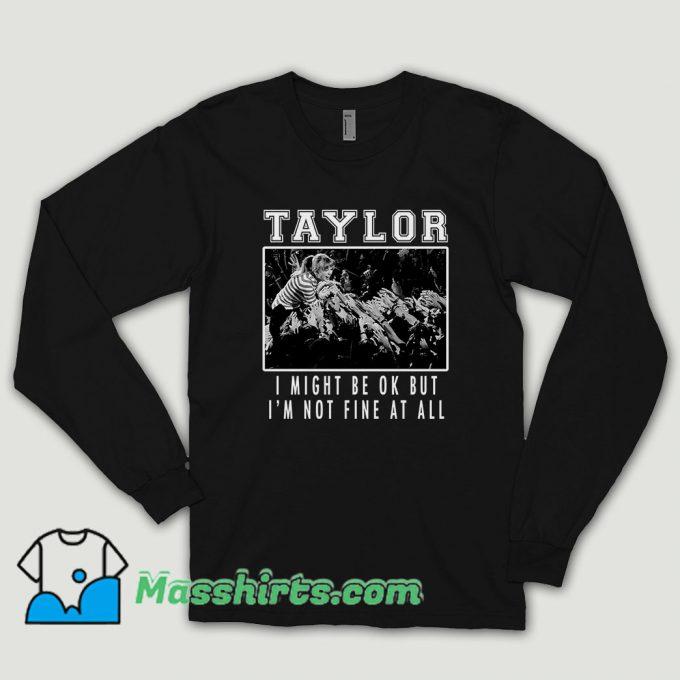 Taylor Swift Hardcore Long Sleeve Shirt