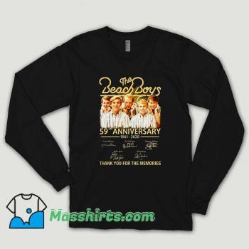 The Beach Boys 59th Anniversary Long Sleeve Shirt