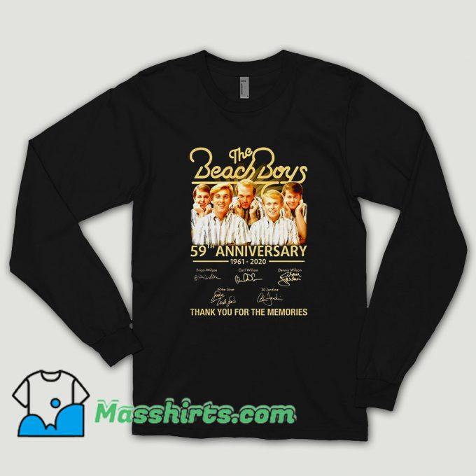 The Beach Boys 59th Anniversary Long Sleeve Shirt