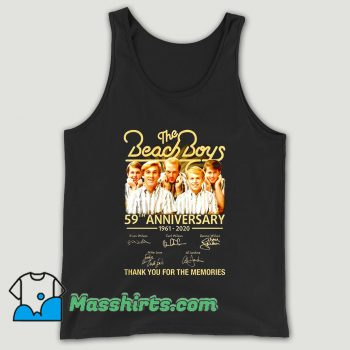 The Beach Boys 59th Anniversary Unisex Tank Top