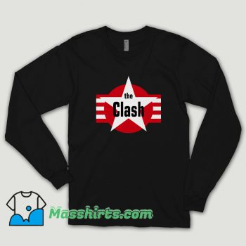 The Clash Star And Stripes Magnet Long Sleeve Shirt