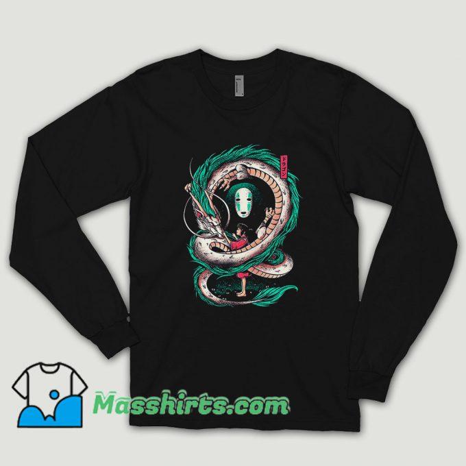 The Girl And The Dragon Long Sleeve Shirt