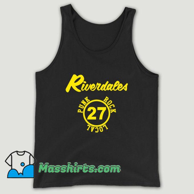 The Riverdales Punk Rock Local 27 Unisex Tank Top