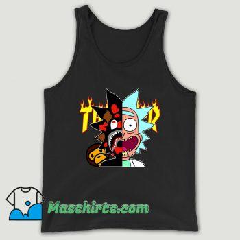 Thrasher Bape Rick Morty Unisex Tank Top