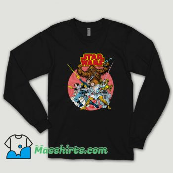 Tie Fighter Star Wars Long Sleeve Shirt
