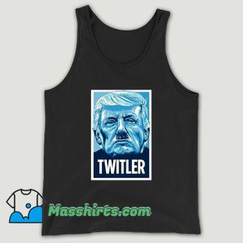 Twitler Anti Trump Unisex Tank Top