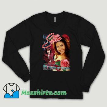 Vintage Selena Quintanilla Long Sleeve Shirt