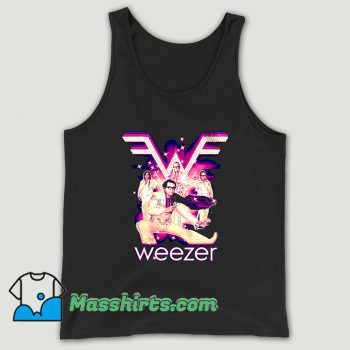 Weezer New Elvis Band Unisex Tank Top