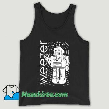 Weezer Robot Unisex Tank Top