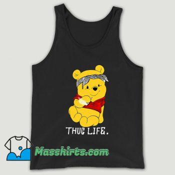 Winnie The Pooh Thug Life Unisex Tank Top
