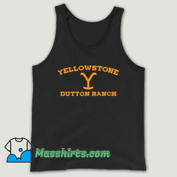 Yellowstone Dutton Ranch Unisex Tank Top