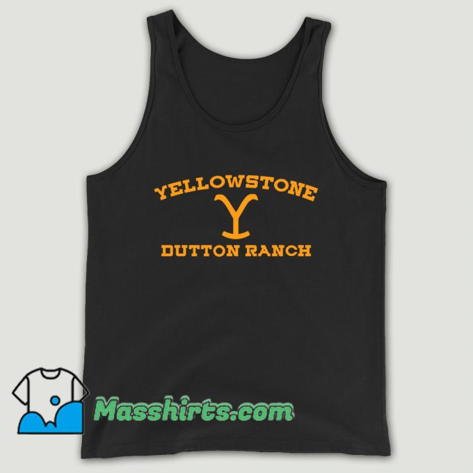 Yellowstone Dutton Ranch Unisex Tank Top