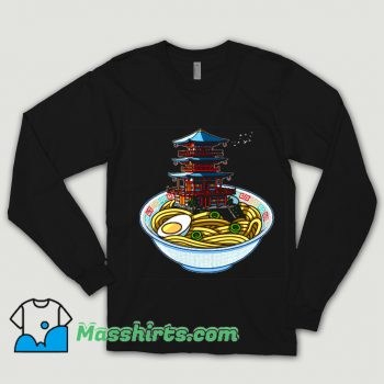 Awesome Ramen Temple Food Shirt