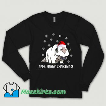 Vintage Appa Merry Christmas Avatar Shirt