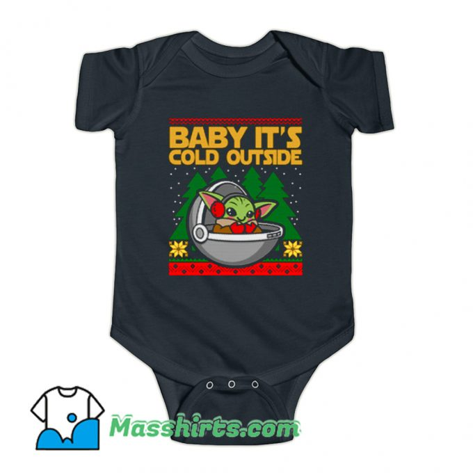 Baby Its Cold Outside Baby Onesie
